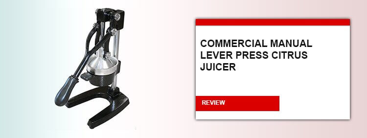 Commercial-Manual-Lever-Press-Citrus-Juicer