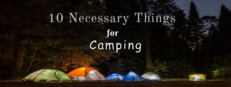10 Necessary Things for Camping